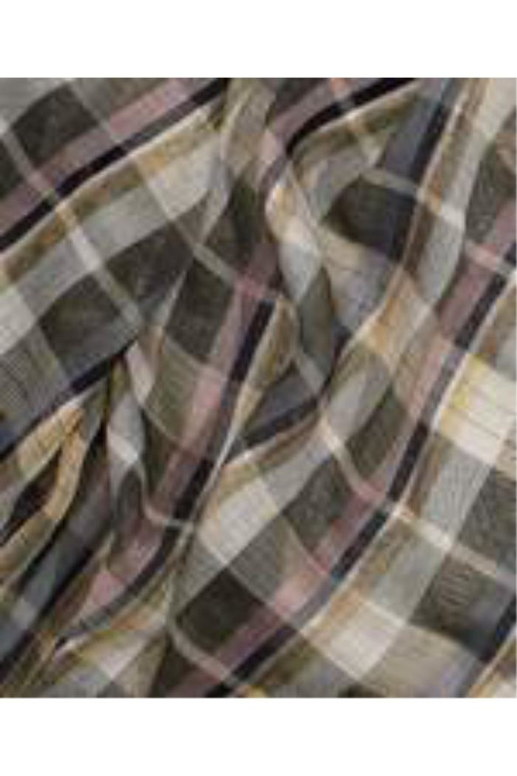 Echo Design Luxe Plaid Scarf - Front Full Image
