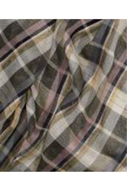 Echo Design Luxe Plaid Scarf - Front full body
