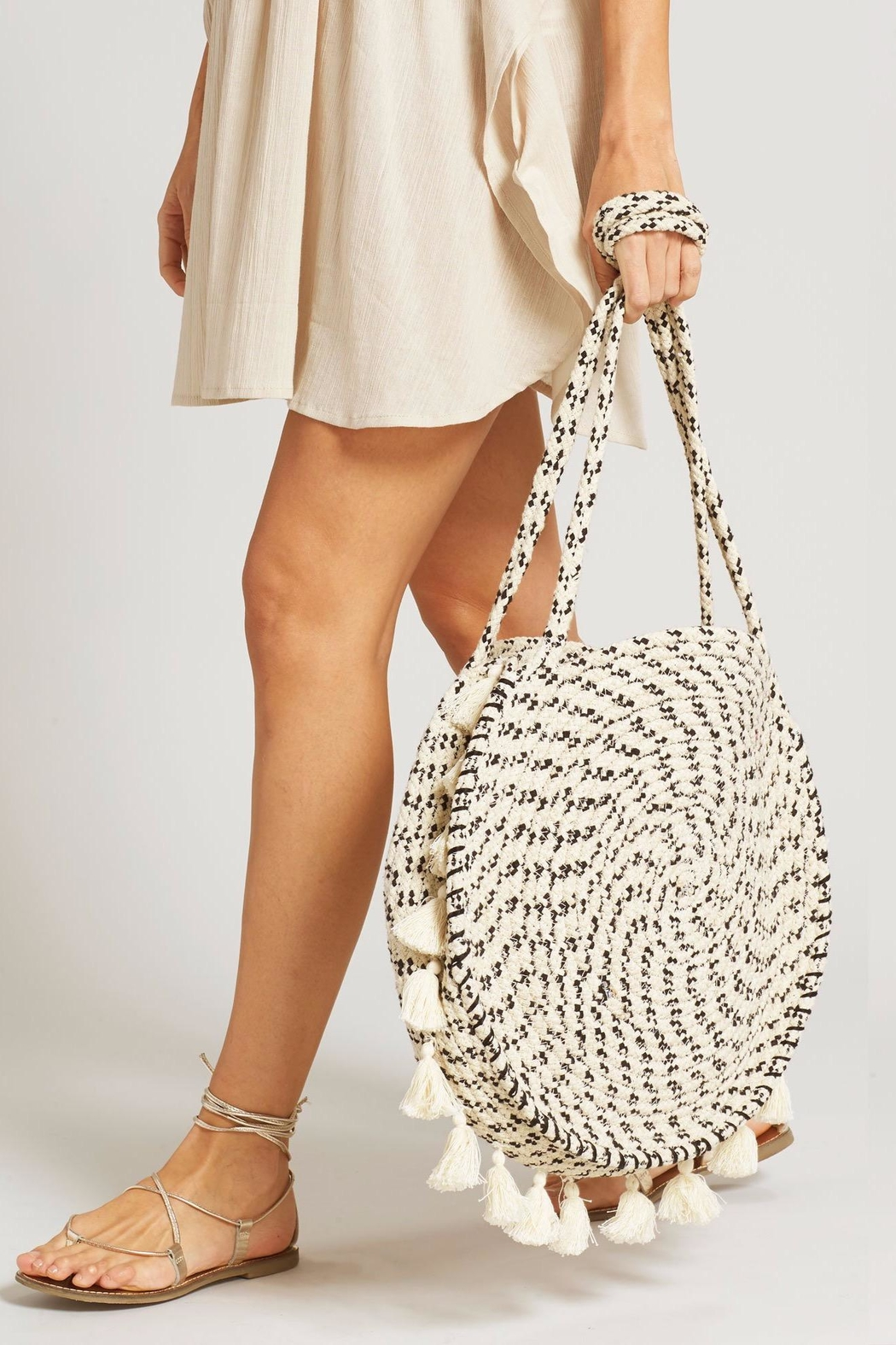 Echo Design Braided Circle Bag - Front Full Image