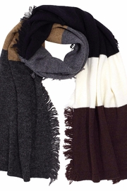 Echo Design Color Block Scarf - Front cropped