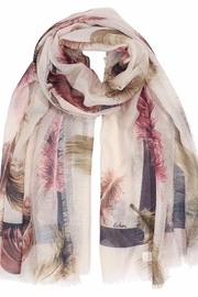 Echo Design Falling Feather Wrap-Scarf - Front cropped