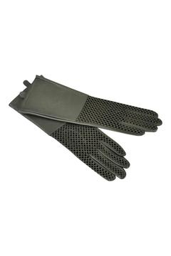 Shoptiques Product: Pewter Leather Gloves