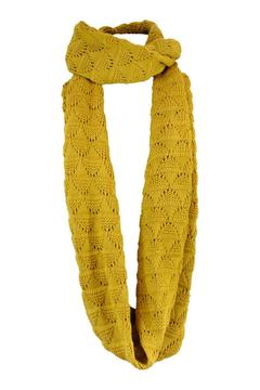 Echo Design Mustard Infinity Scarf - Product List Image