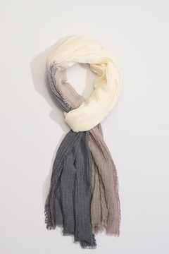 Shoptiques Product: Ombre Crinkle Scarf
