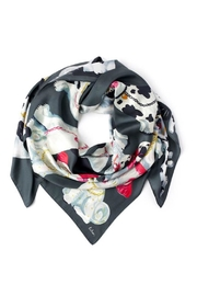 Echo Design Silk Square Scarf - Front cropped