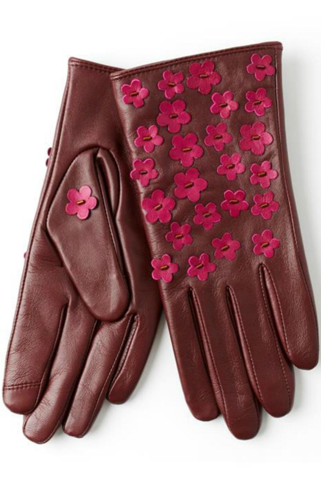 Echo Design Winter Touch Gloves - Front Cropped Image