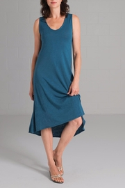 Echo Verde Blue Dress - Product Mini Image