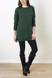 Echo Verde Merino Crew Tunic - Product Mini Image