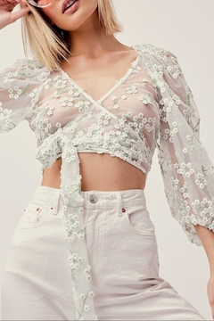 FOR LOVE & LEMONS Eclair Crop Top - Product List Image