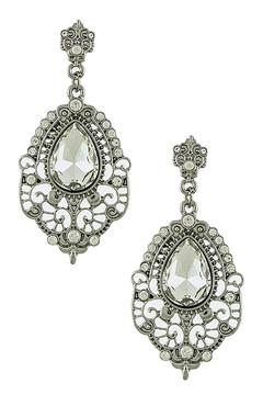 Shoptiques Product: Baroque Drop Earrings
