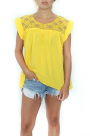 Eclectic Array Beach Blouse - Product Mini Image