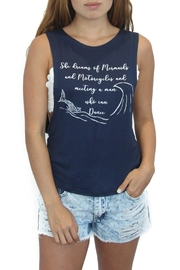 Eclectic Array Mermaid Tank Top - Front cropped