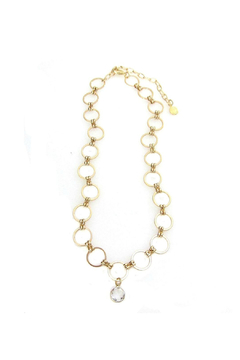 Shoptiques Product: Eclipse Choker w Round Crystal