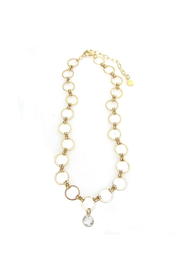 Jessica Elliot Eclipse Choker w Round Crystal - Product Mini Image