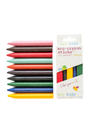 eco-kids Eco-Crayon Beeswax Sticks - 10 Pack - Product Mini Image