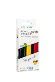 eco-kids Eco-crayon sticks (5 count) - Front cropped