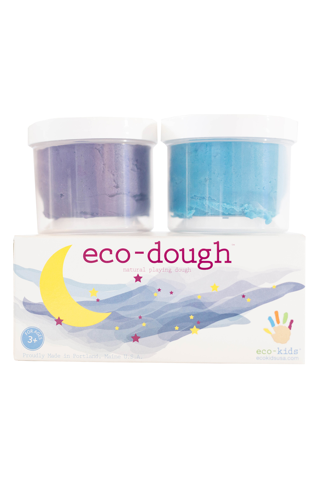 eco-kids Eco-Dough Natural Playing Dough - Front Cropped Image