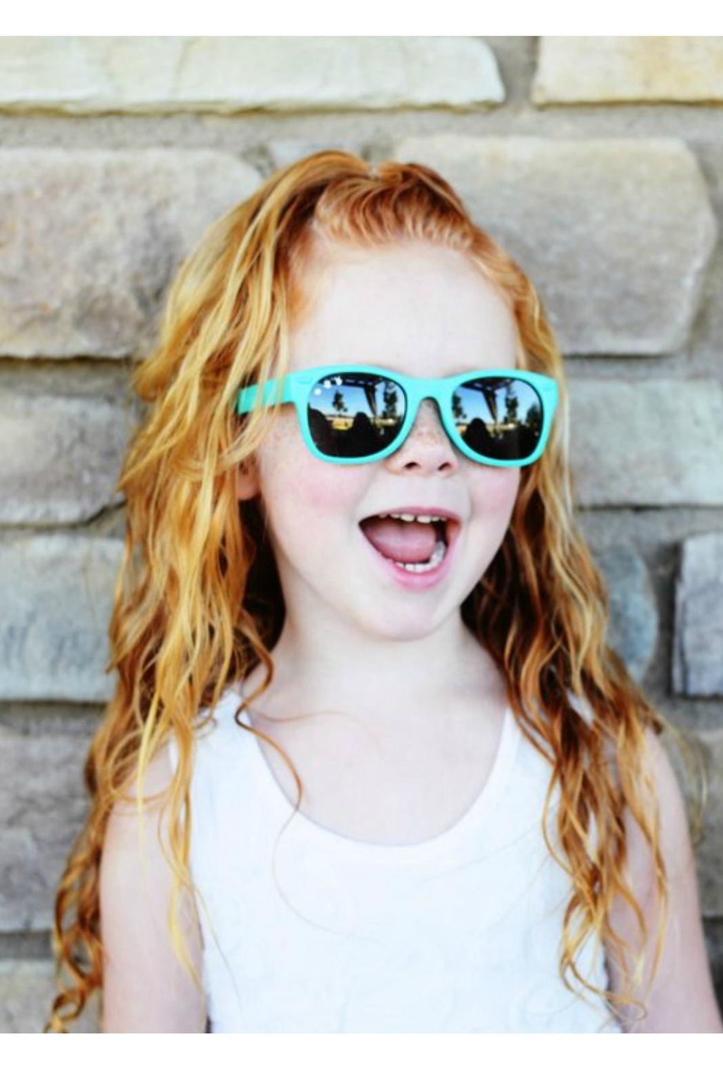 RoShamBo Baby Eco-Friendly Kids' Shades - Front Full Image