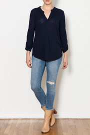 Three Dots Eco Knit Shirt - Side cropped