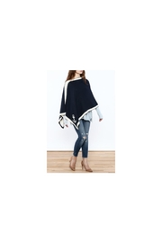 In2Green Eco Nautical Poncho - Front cropped
