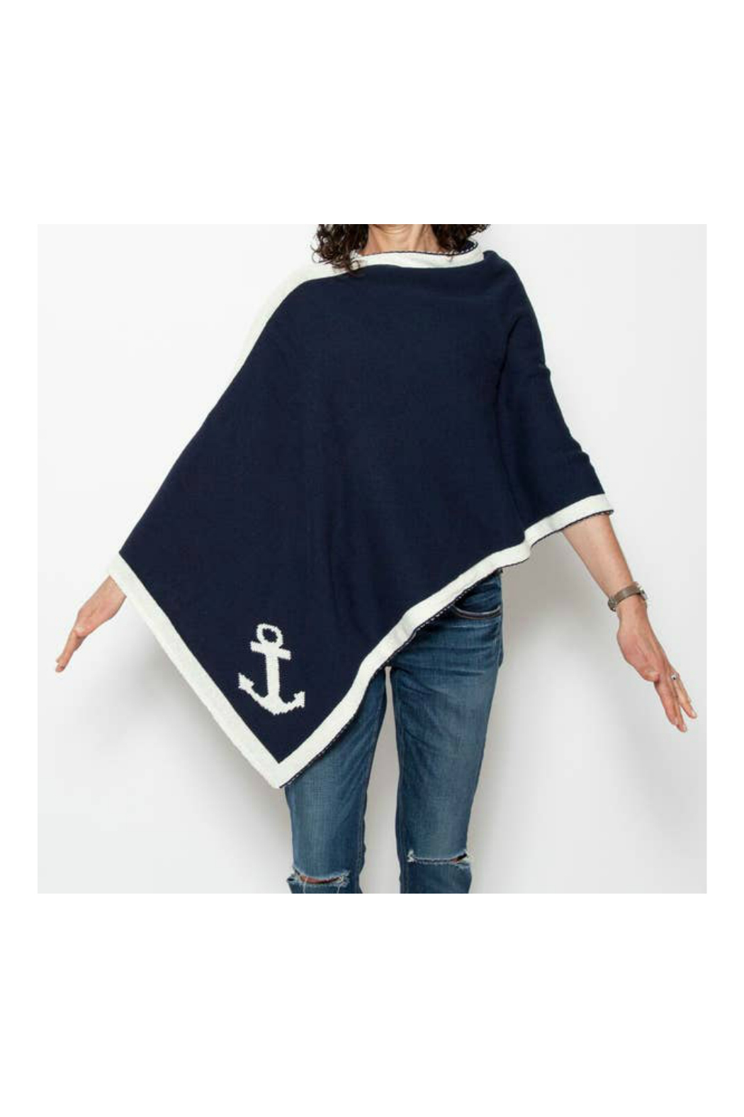 In2Green Eco Nautical Poncho - Front Cropped Image