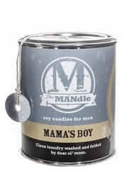 Eco Candle Mama's Boy Candle - Front cropped
