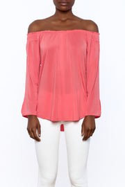 Ecru Apricot Top - Side cropped