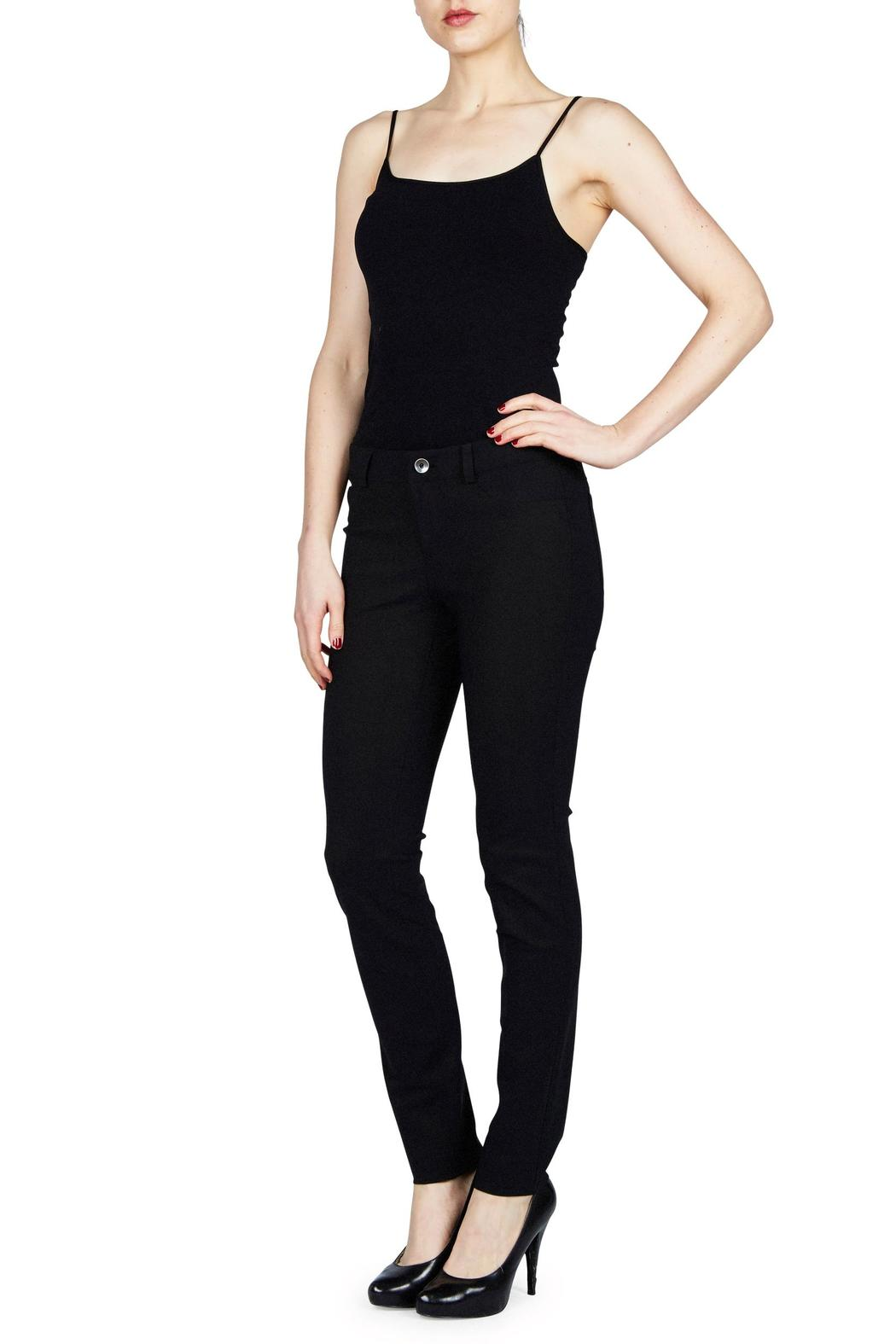 Ecru Avicci Jean Style Pant - Front Cropped Image