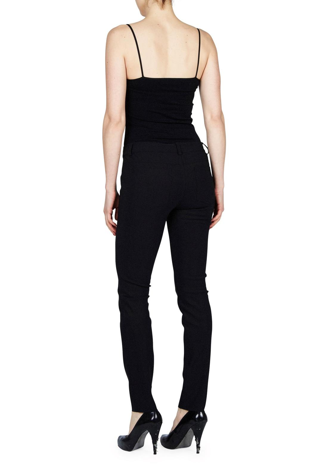 Ecru Avicci Jean Style Pant - Front Full Image