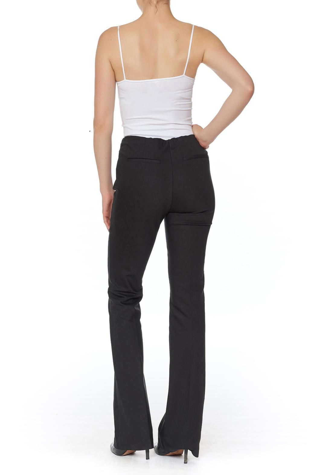 Ecru Bowie Bootcut Pant - Front Full Image