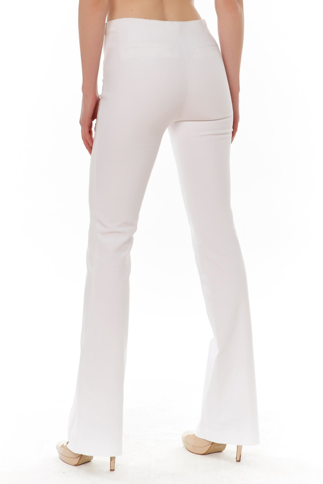 Ecru Bowie Skinny Flare - Front Full Image