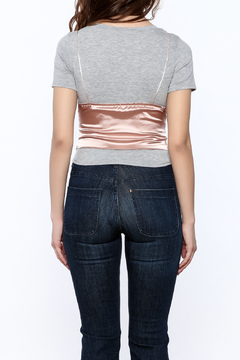 Shoptiques Product: Cropped Cami Tee