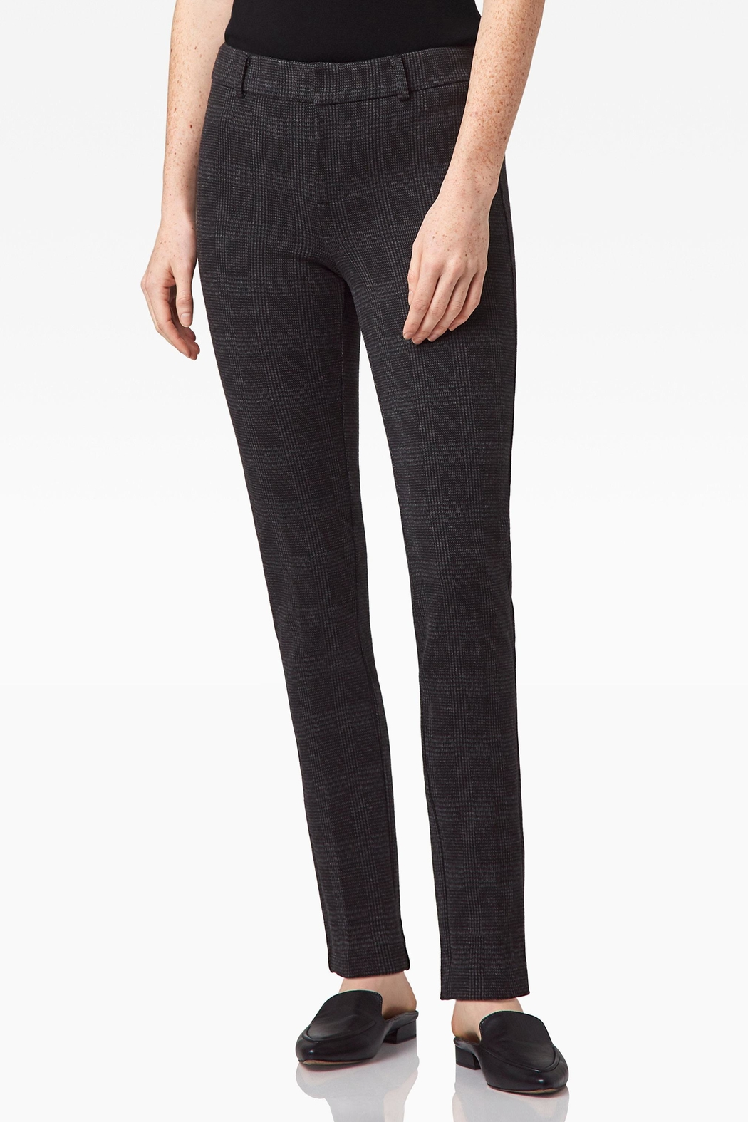 Ecru Lombard Slim Leg - Front Cropped Image