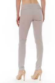 Ecru Skinny Beck Trouser - Front full body