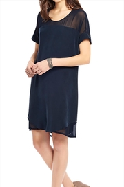 Ecru Teedress Georgette Inserts - Front cropped