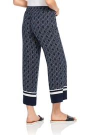 Ecru Wide Leg Pant - Front full body