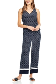 Ecru Wide Leg Pant - Product Mini Image