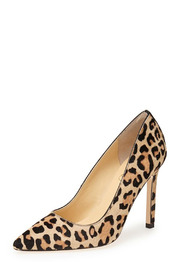 IVANKA TRUMP Carraly In Leopard - Front full body