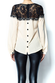 A'reve Lace Top - Back cropped
