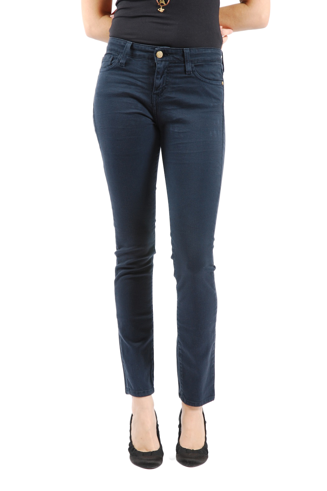 acquaverde colored scarlett skinny jeans from marais shoptiques. Black Bedroom Furniture Sets. Home Design Ideas