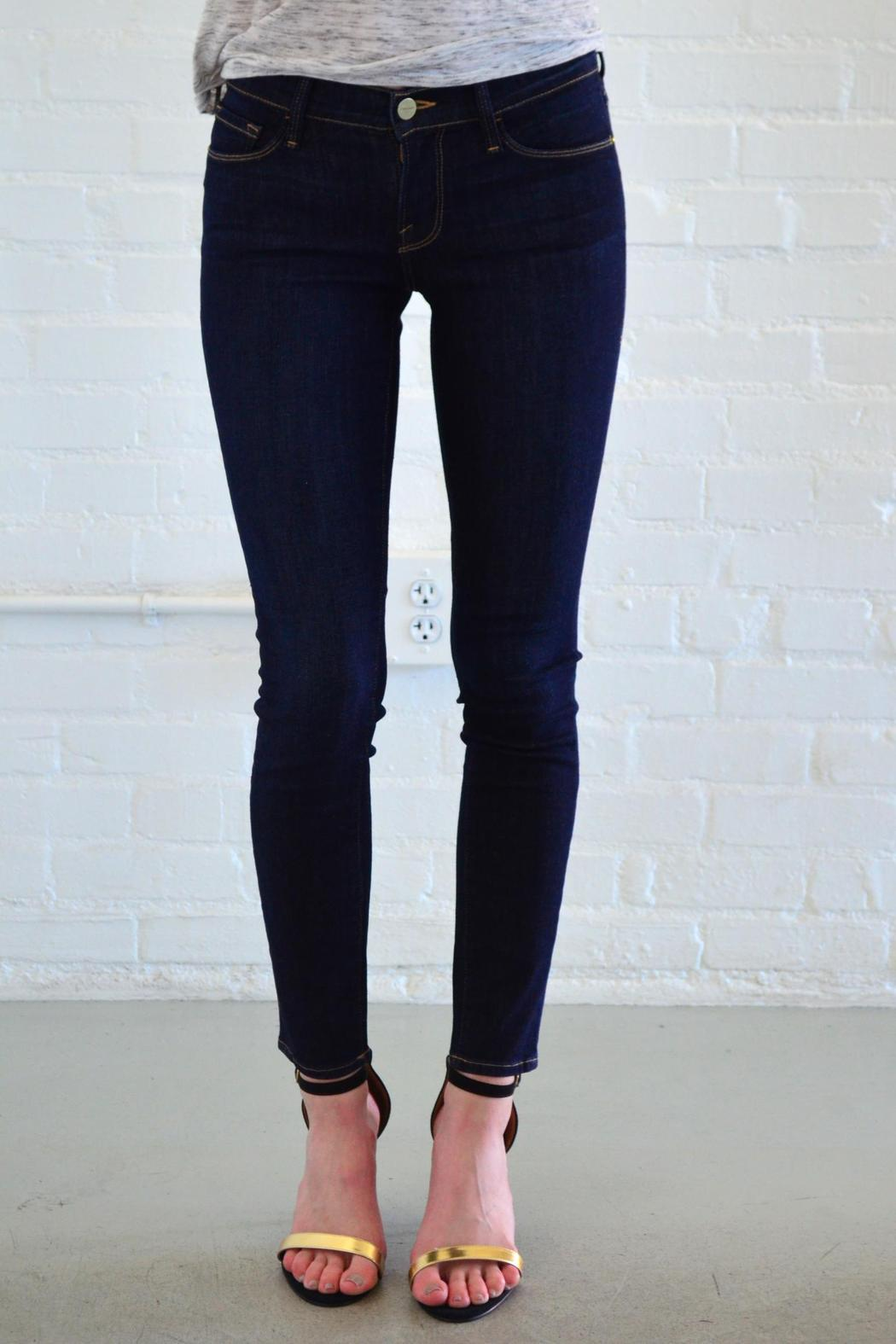 FRAME Denim Queens Way Skinny - Front Cropped Image