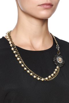 Shoptiques Product: Pear Cameo Necklace