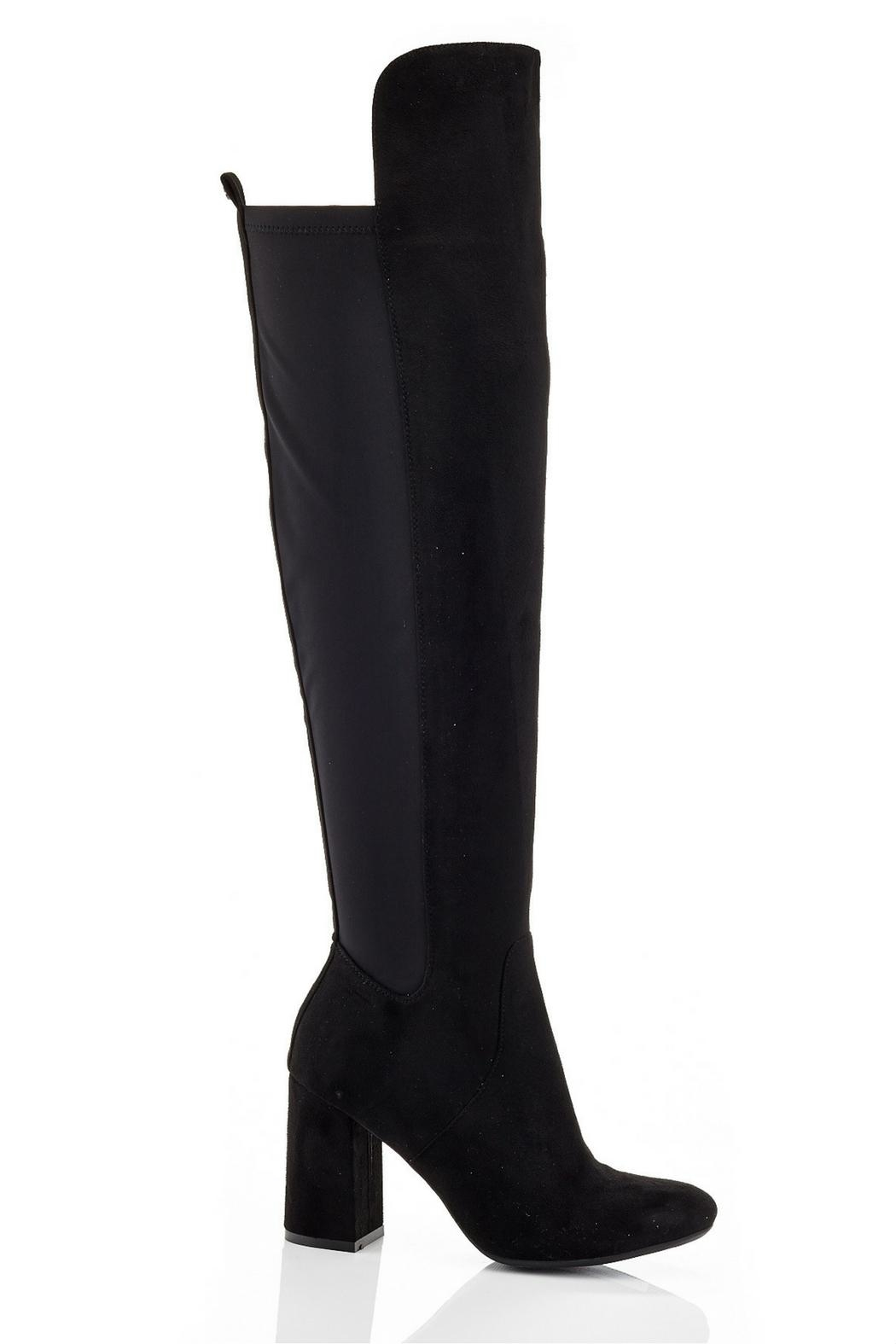 Eddie Marc & Co Hannah Over-The-Knee Boots - Front Full Image