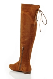Eddie Marc & Co Lania Over-The-Knee Boots - Side cropped