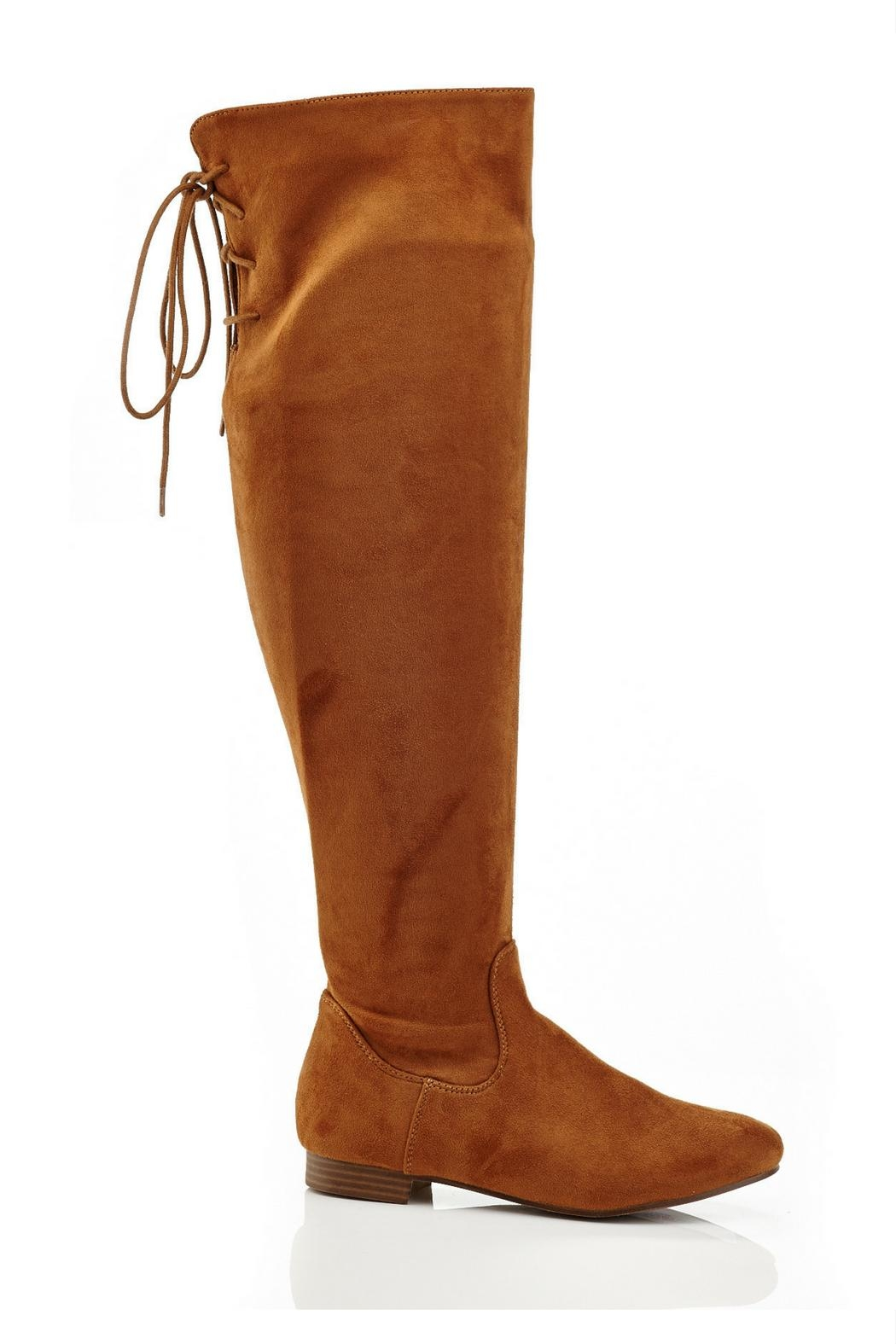 Eddie Marc & Co Lania Over-The-Knee Boots - Front Full Image