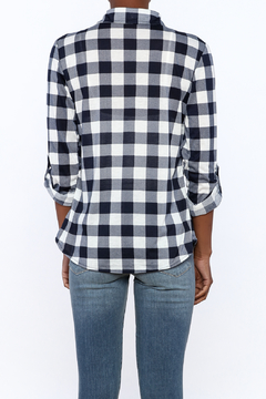 Eden and Olivia Checkered Button Top - Alternate List Image