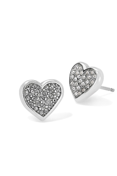 Brighton Eden Hearts Mini Post Earrings - Alternate List Image