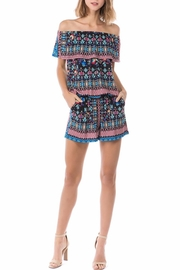 Vava by Joy Hahn Eden Off-Shoulder Romper - Product Mini Image