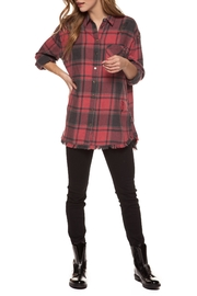 Dex Edgy Plaid Top - Product Mini Image