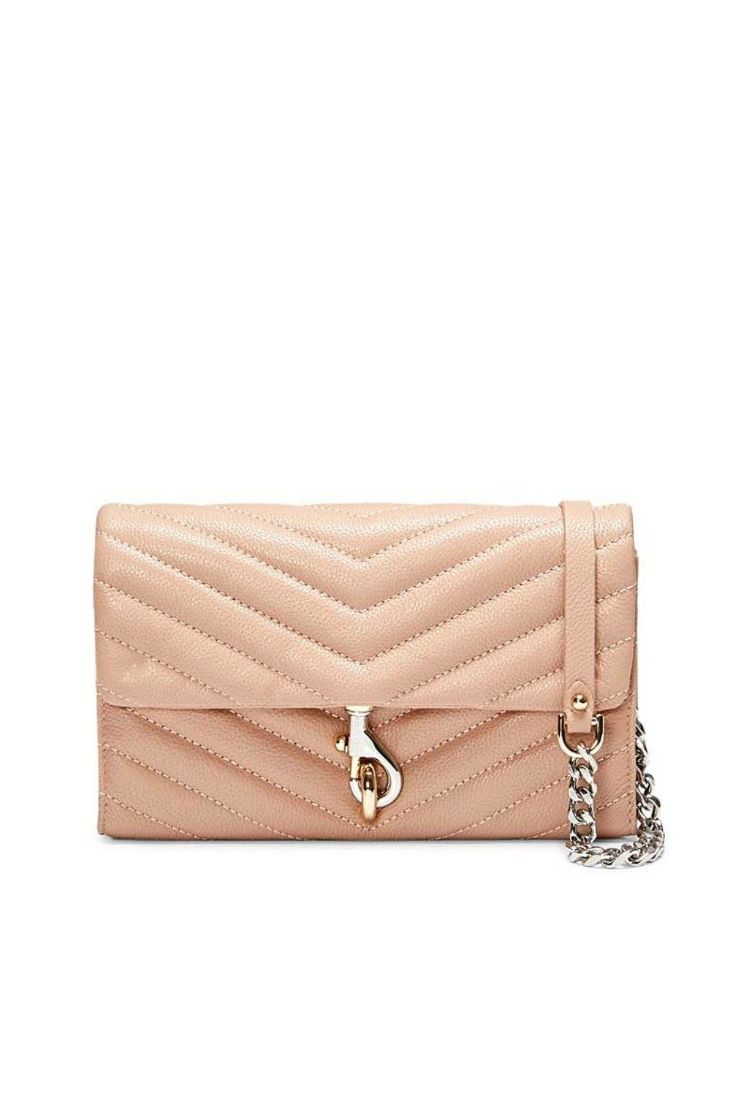 Rebecca Minkoff Edie Chain Wallet - Front Cropped Image